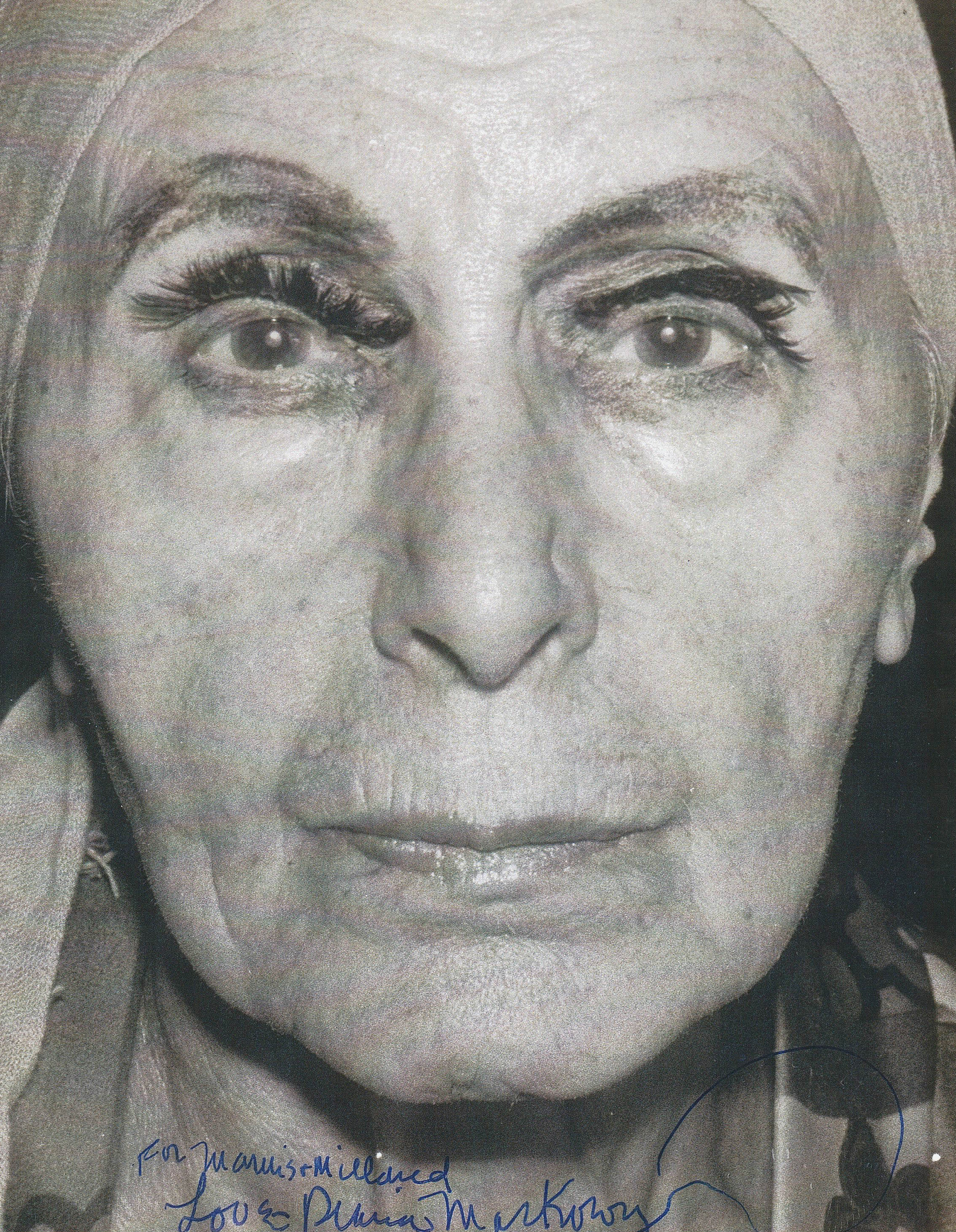 Portrait of Louise Nevelson taken by Diana MacKown (b. 1936) in 1986. Image courtesy of Diana MacKown.