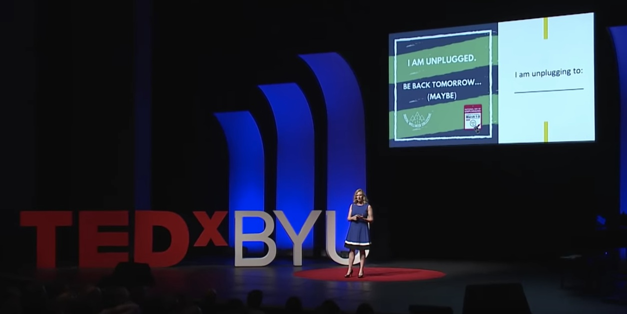 The Future of Happiness: Getting Unstuck in the Digital Era - Amy Blankson | TEDxBYU