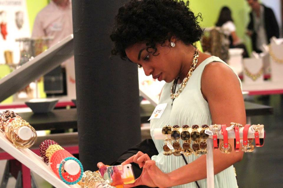 in-store event with BaubleBar | NYC