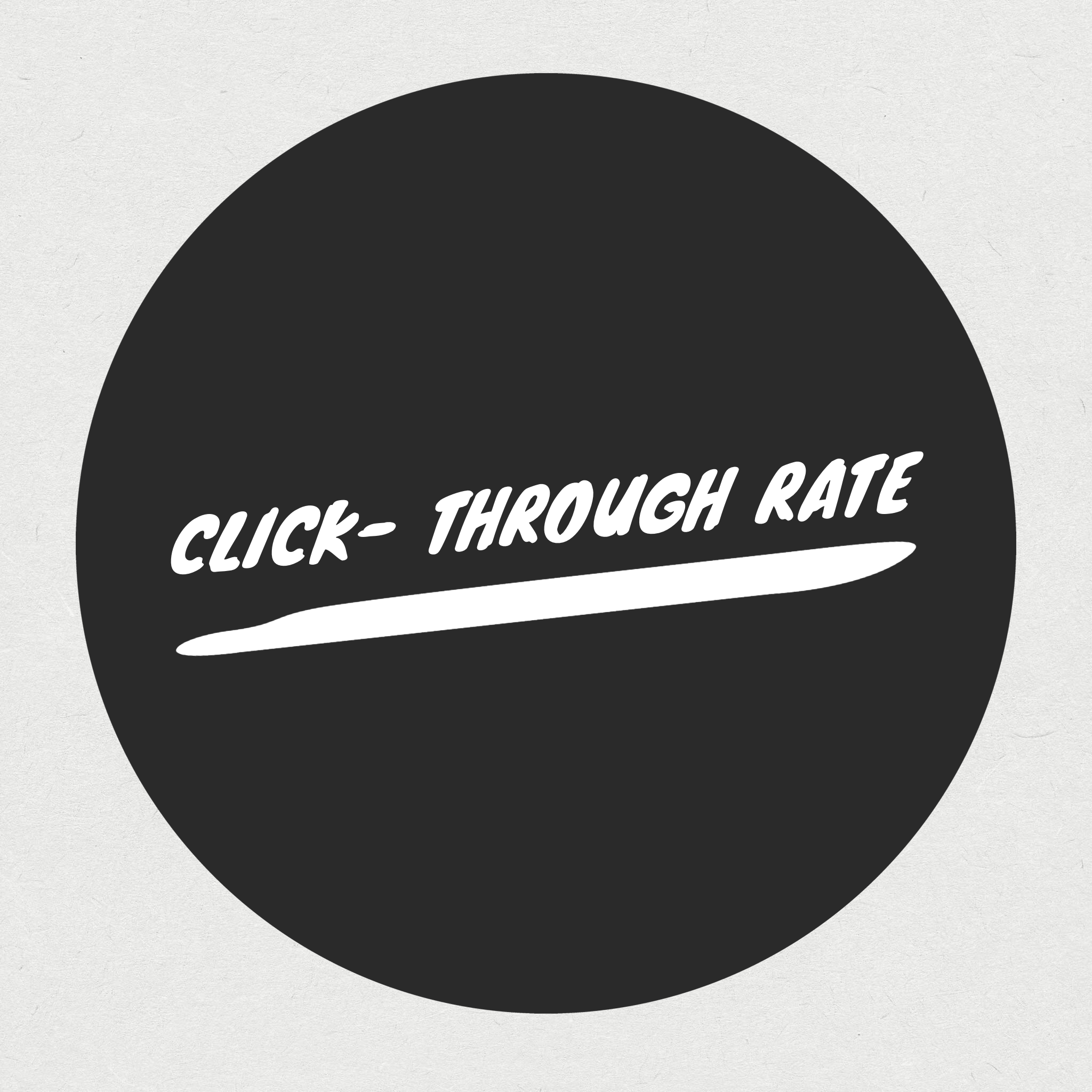 click-through rate