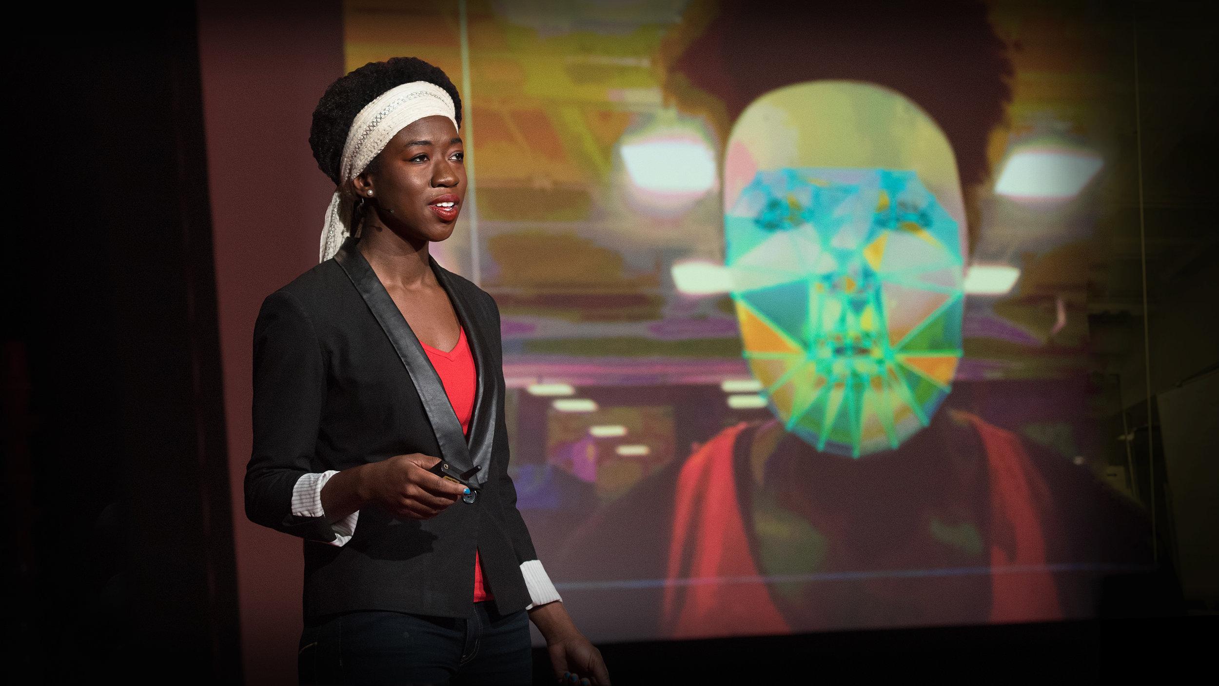 Joy Buolamwini of the Algorithmic Justice League | Photo: TED Talks