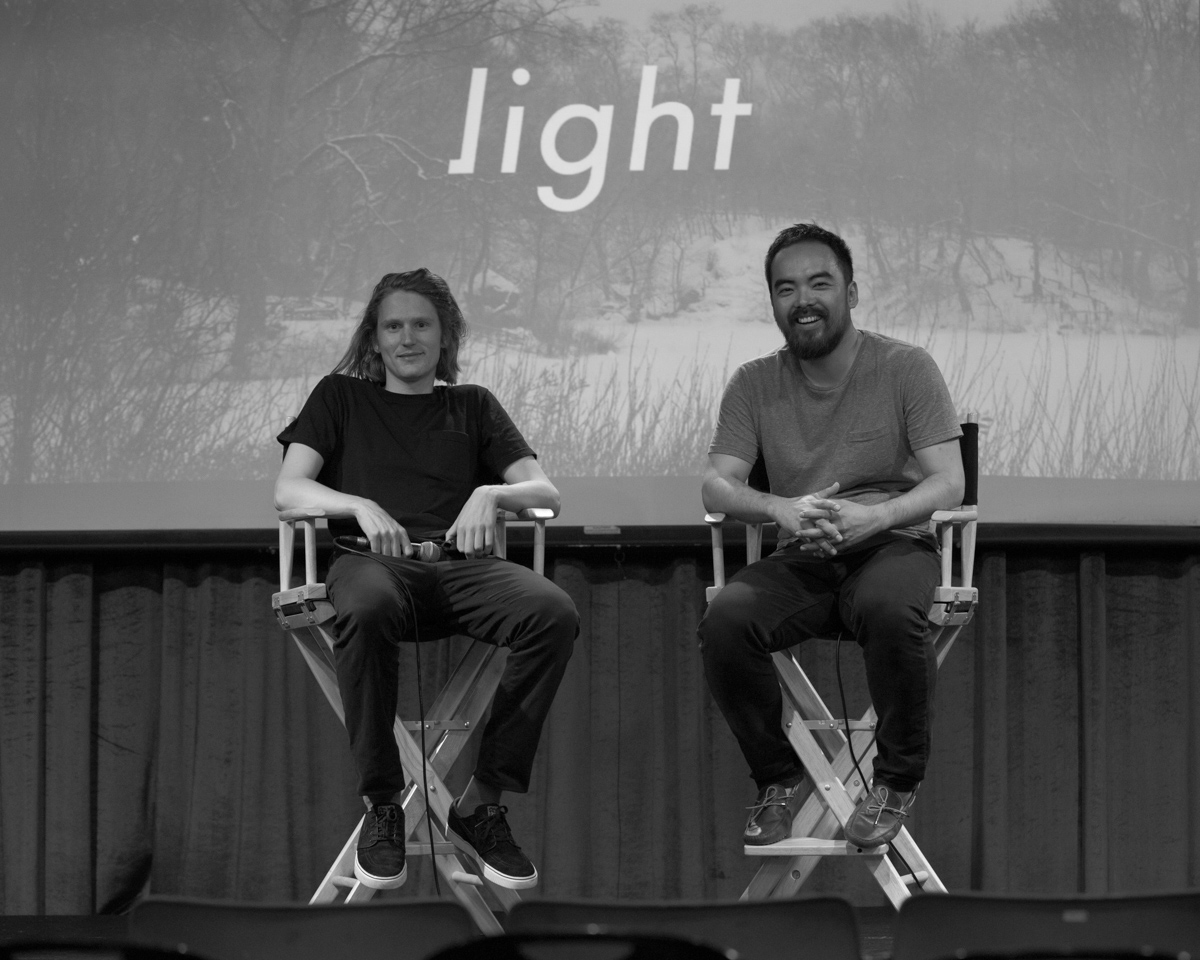 The Light co-founders Joe Hollier and Kai Tang.