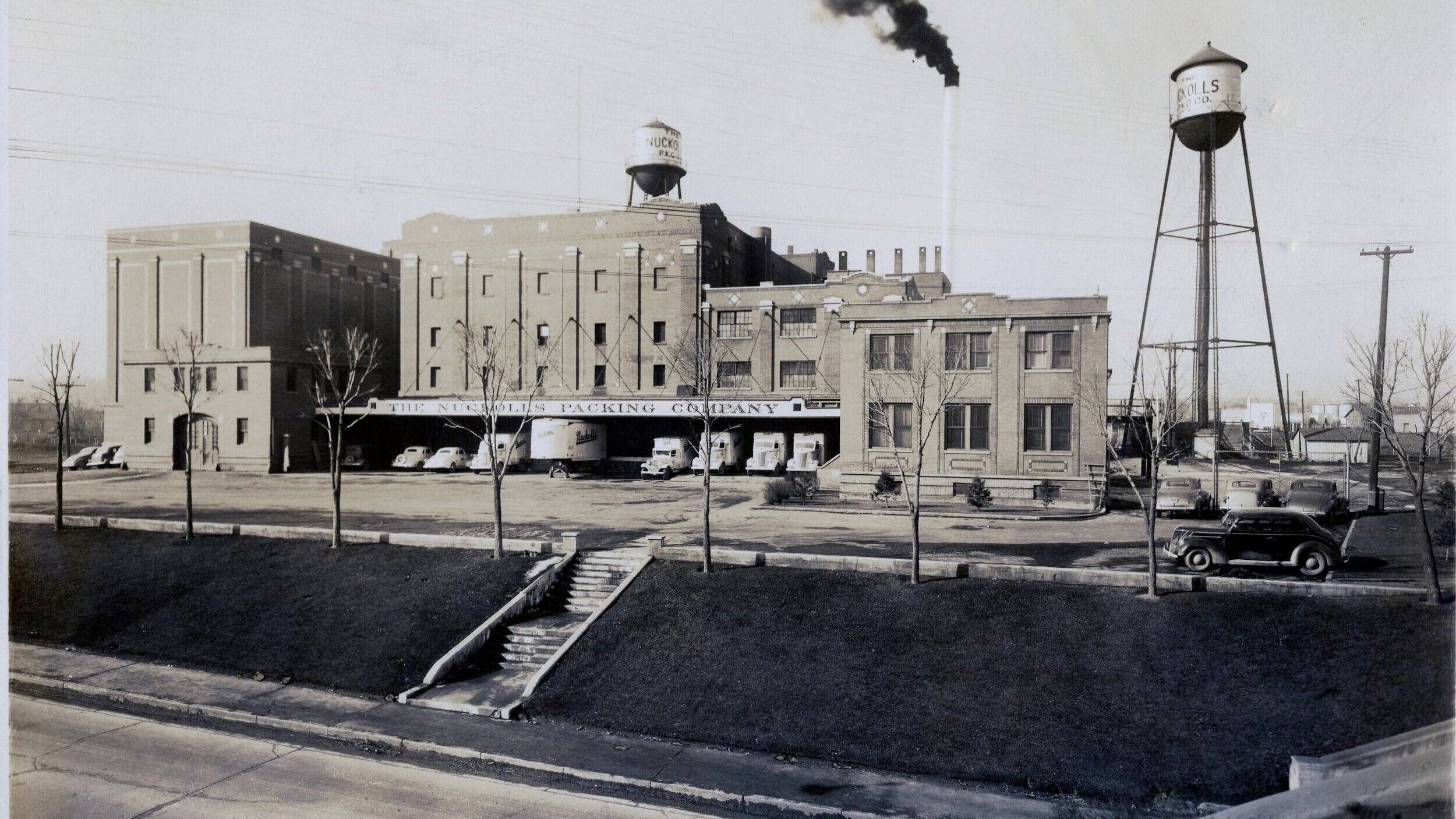 Nuckolls Packing Company in Winter 1940.