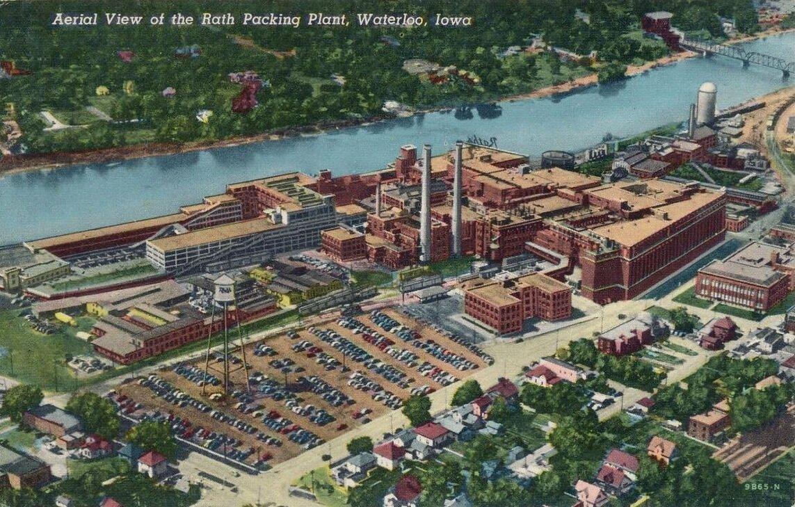 Rath Packing Plant, Waterloo IA