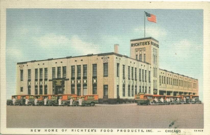 Richter Sausage Factory, Chicago IL
