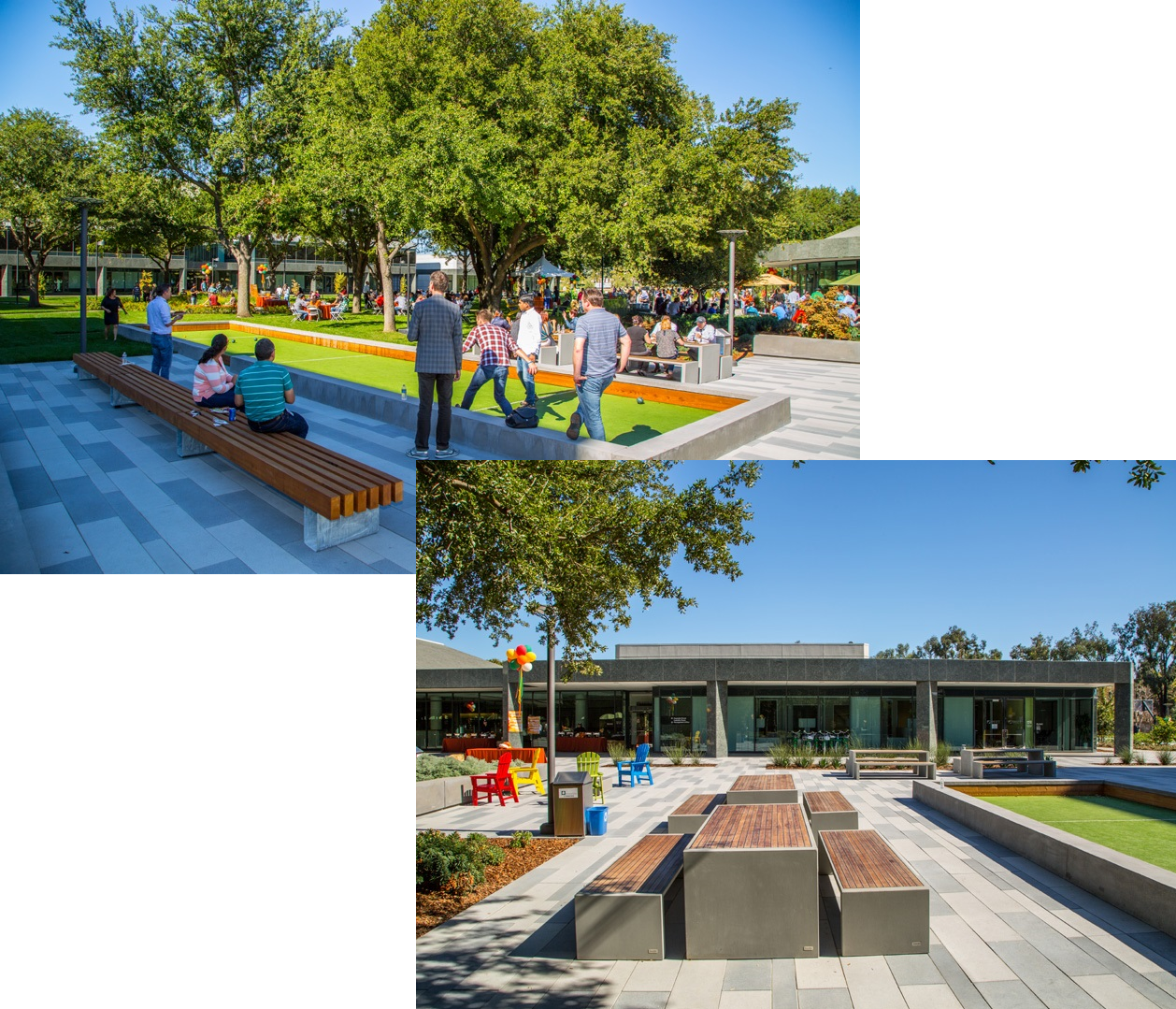 Bocce Courts & Picnic Area - Test yourself against your coworkers at the Bocce Courts!Varies