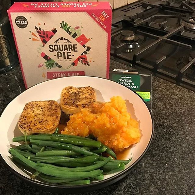 """All the deliciousness of this fave, without the calories!"" 📸 by @lucys_journey_186  Find them in the @waitrose freezer  #properlittlepies #fuel #healthydiet #lunch #waitrose #foodstagram"