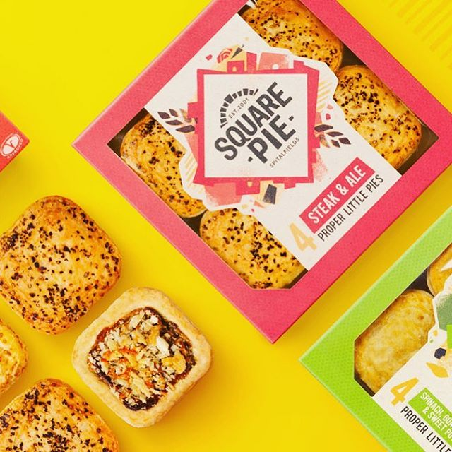 Check out our new look! Available now at Waitrose, Ocado & Sainsburys. #squarepiereinvented #stillalive #helloagain #pies #lowcalorie #hotfood #quickfood