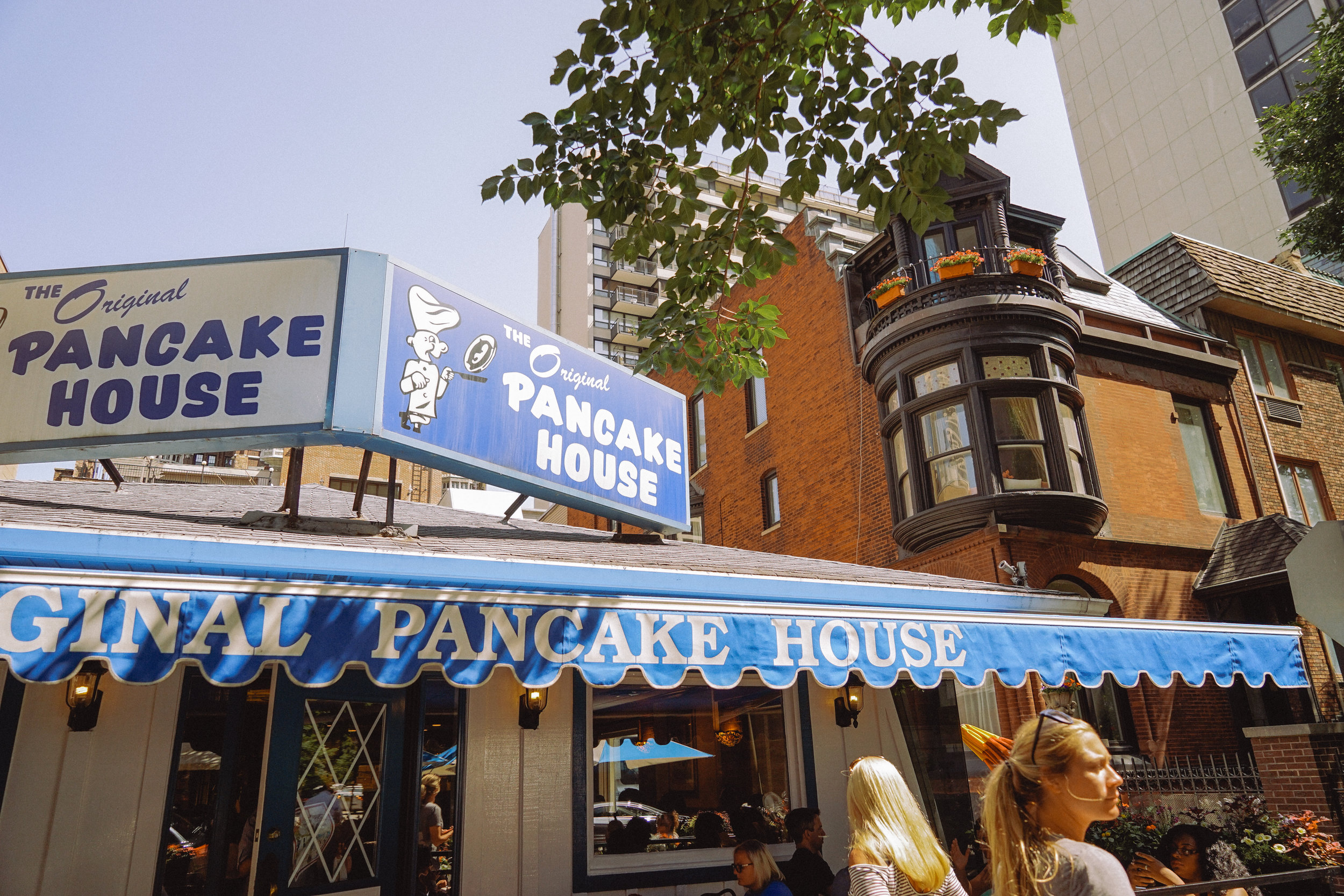 The Original Pancake House in Chicago