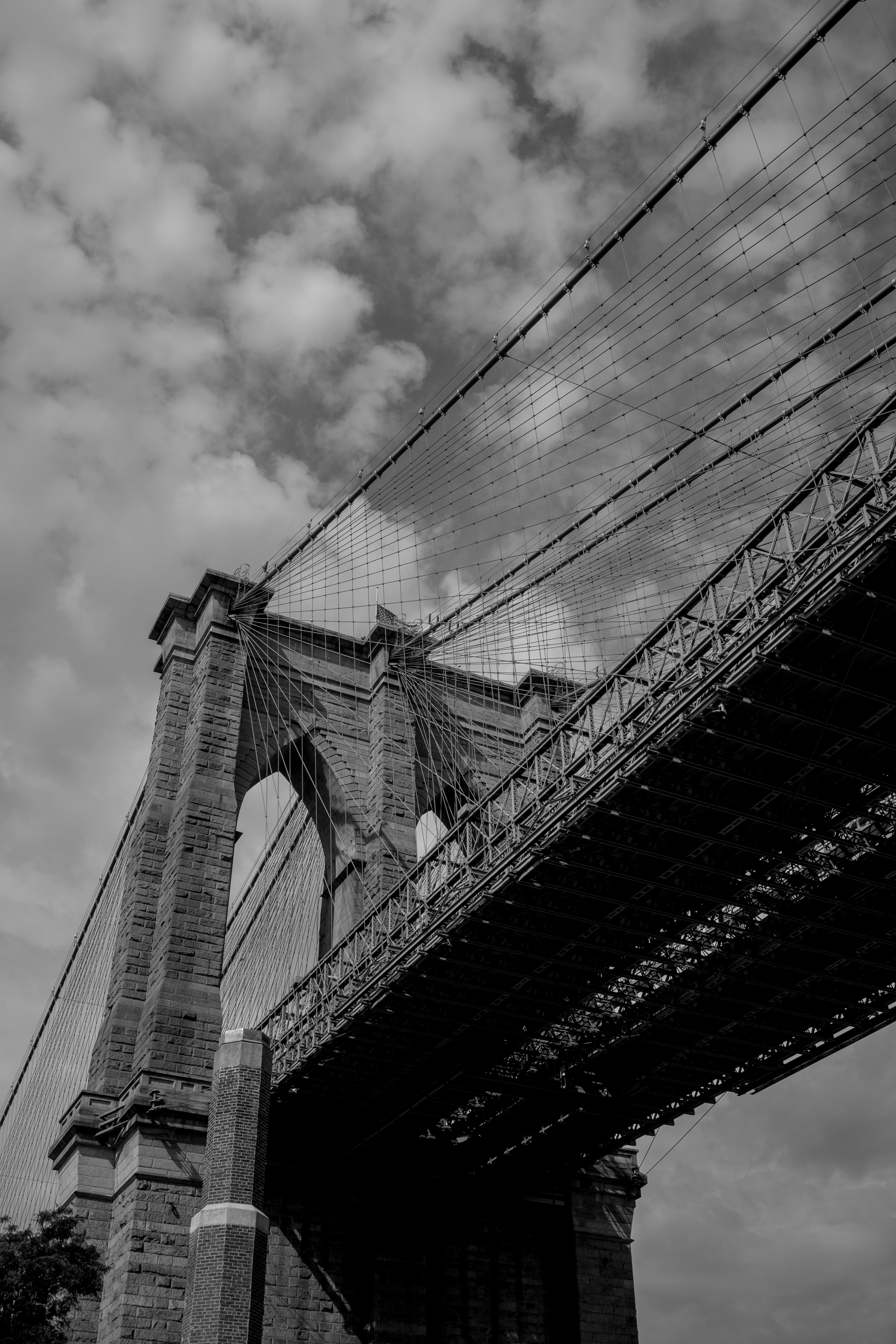 New York City with a Toddler: Walking The Brooklyn Bridge