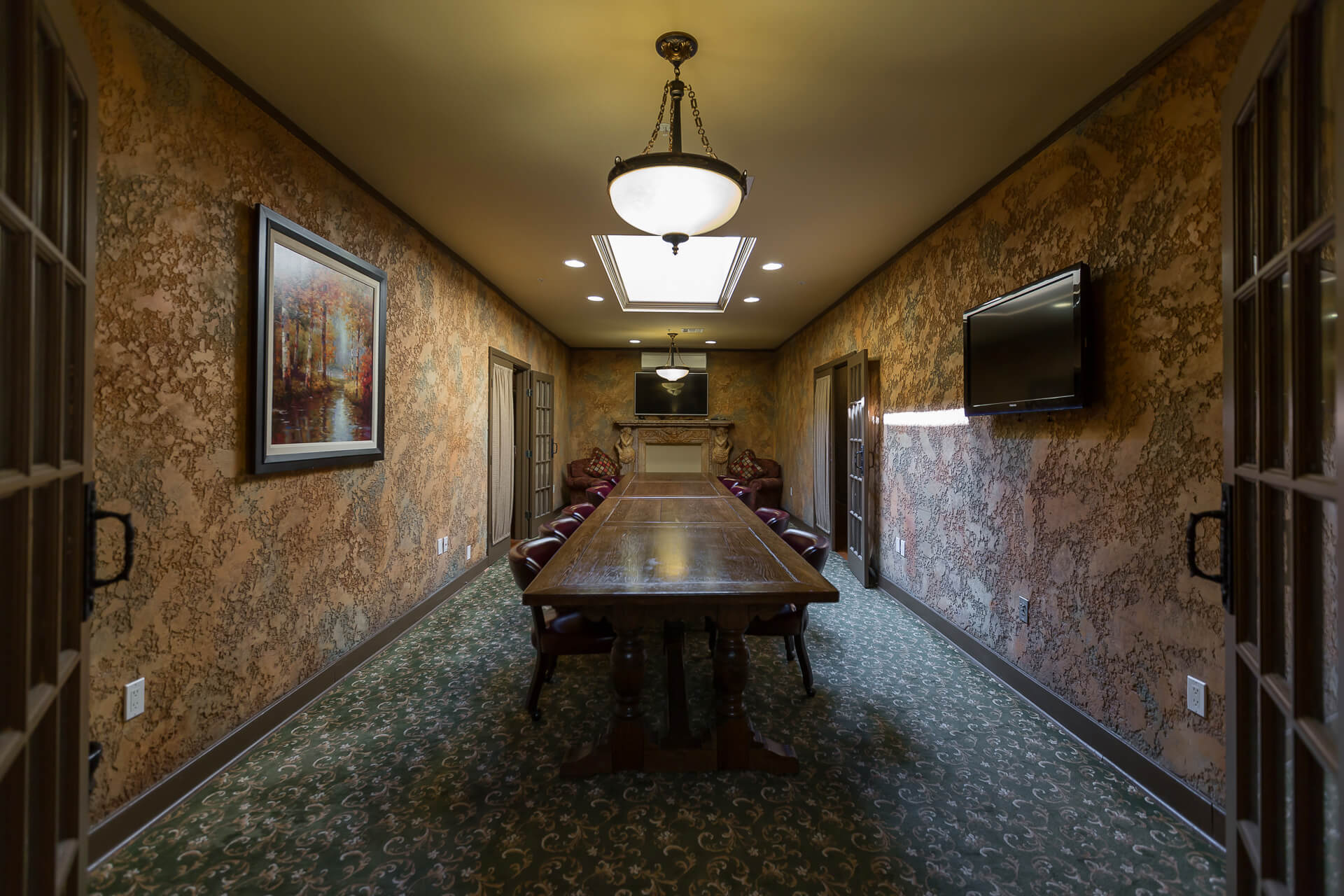 ❖❖❖CAMPBELL BOARDROOM - Meetings conducted in style.