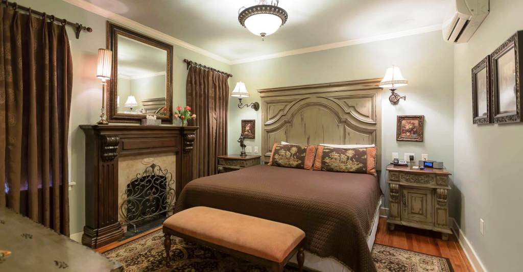TULSA GARDEN SUITE - Get swept away and take in the serene atmosphere this room brings. It could become your home away from home.