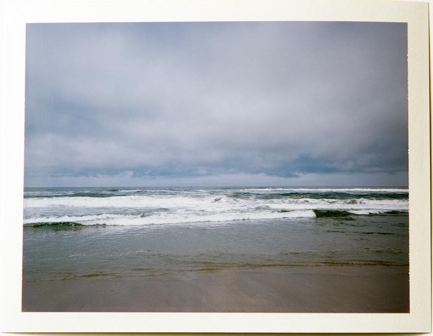 Waves, 4x5 Fuji Instant Film