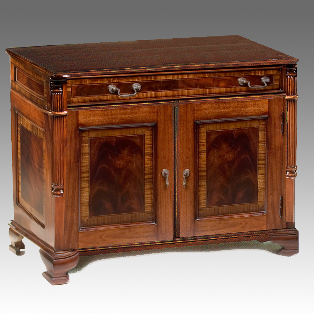 CA121 - Chippendale Style Cabinet