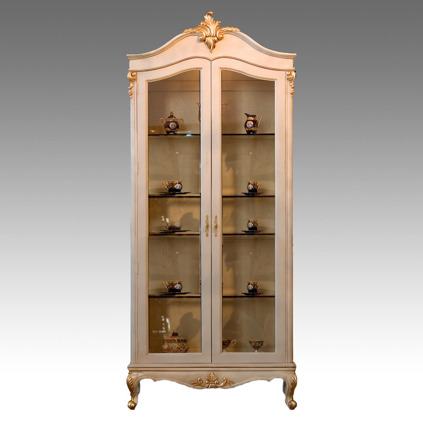 CA20142D - Francisca Two Door Curio. Cabinet