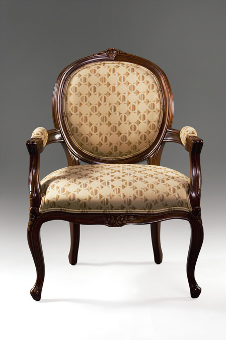 CH1021 - Louis XV Oval Back Chair