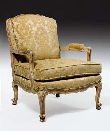 CH1210 - Poltrona Arm Chair & Ottoman