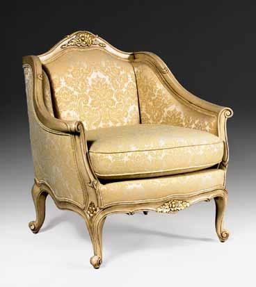CH3015A - Louis XV Arm Chair