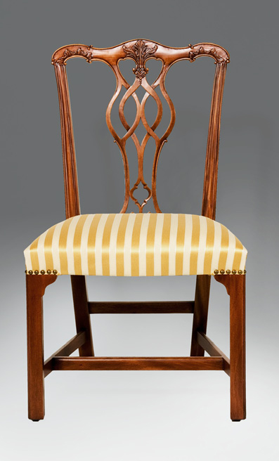 CH002S - Georgian Style Chippendale Side Chair