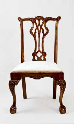 CH003S - Wharton Chippendale Side Chair