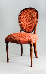 CH129S - Carved Hepplewhite Side Chair