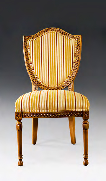 CH1015S - Carved Hepplewhite Side Chair