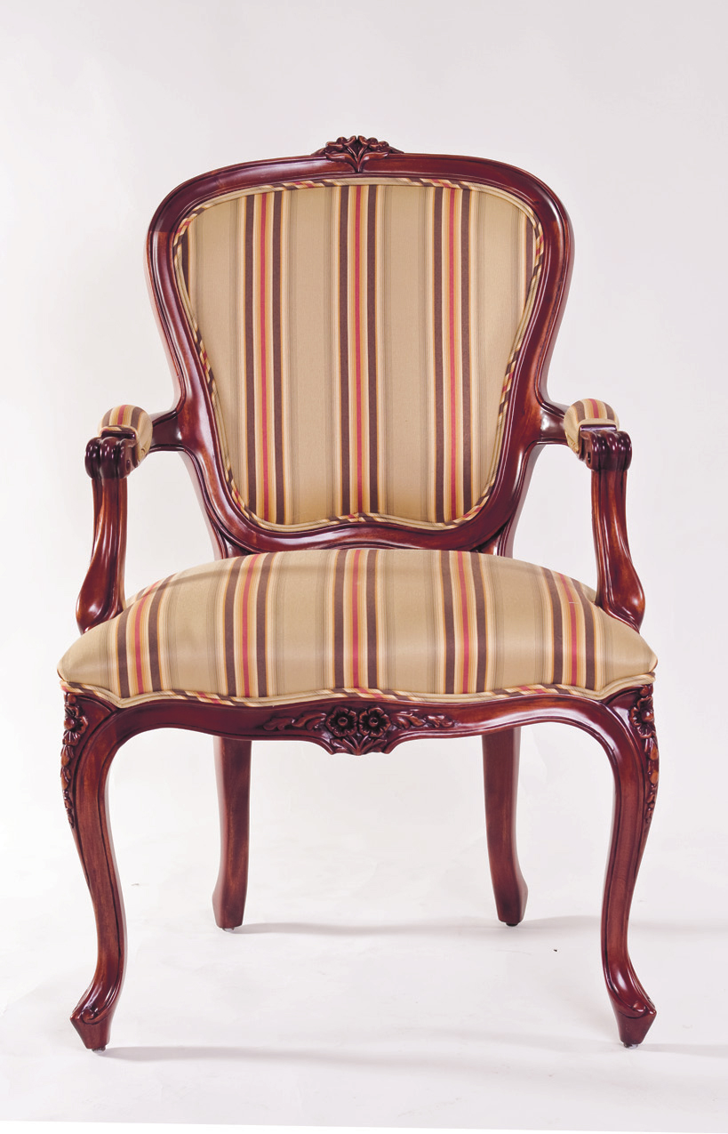 CH1023 - Louis XV Dining Arm Chair
