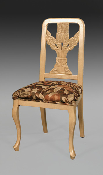 CH1037S - Wheat Back Dining Side Chair