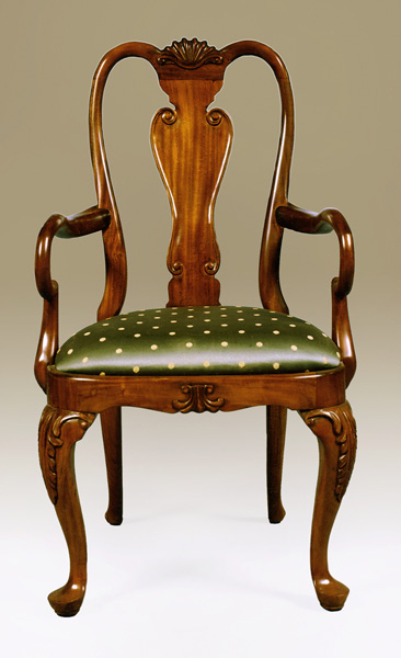 CH1748A - Queen Anne Arm Chair