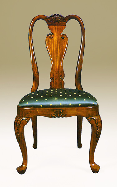 CH1748S - Queen Anne Side Chair