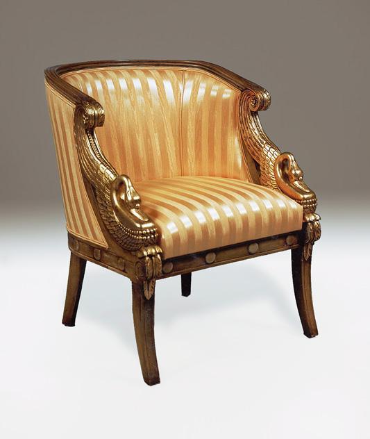 CH1000 - Empire Swan Tub Chair