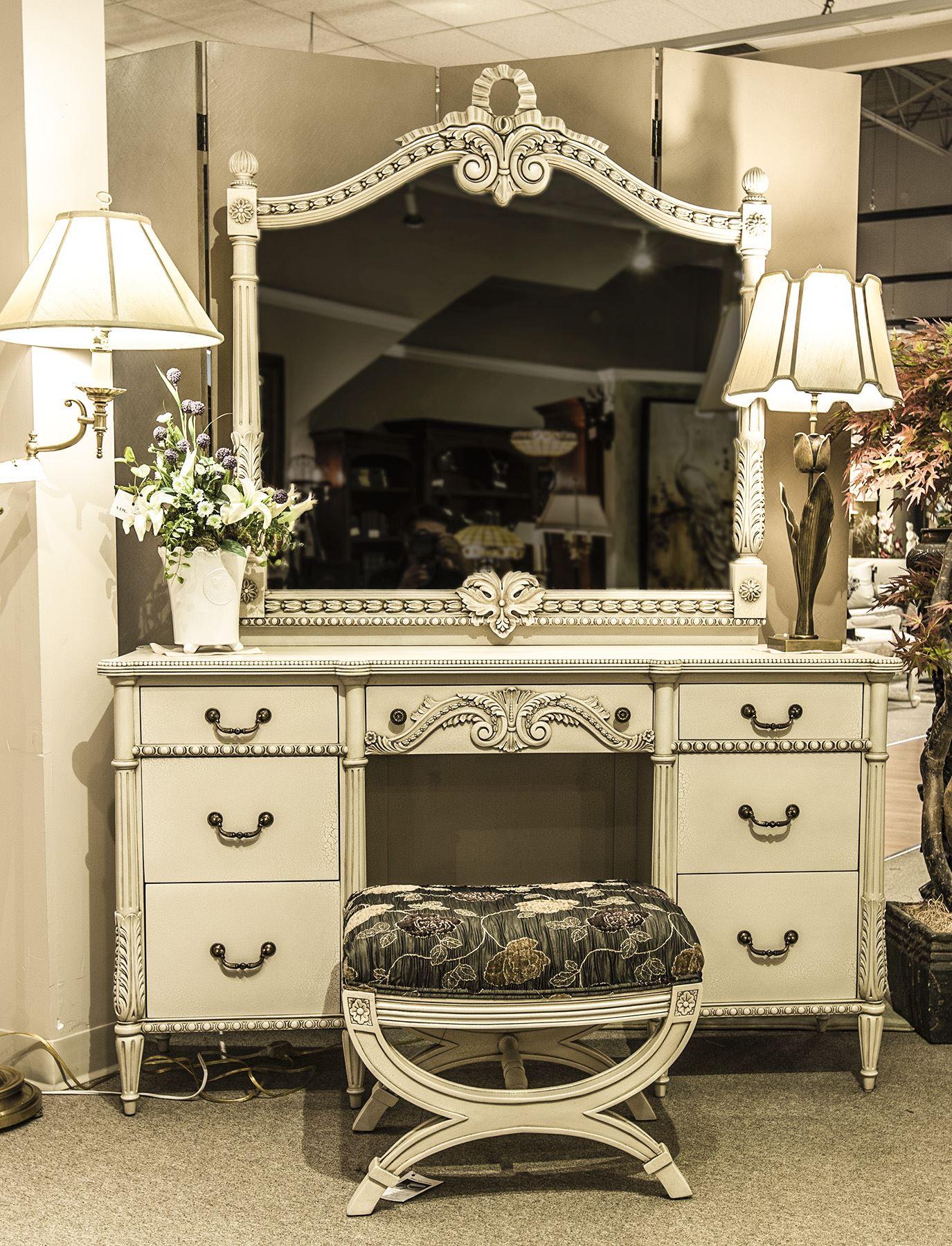 CA502D -Louis XVI Dresser & Mirror