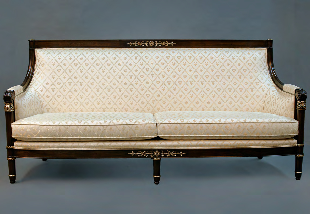 CH2016S - Neopolitan Directoire Sofa