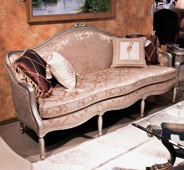 CH388 - French Transitional Sofa