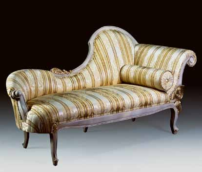 CH2828 - French Chaise Lounge
