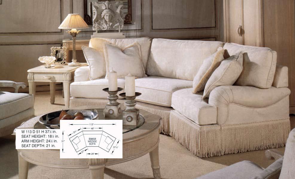 CH9658 - Wedge Sofa