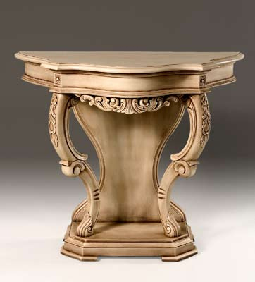 TA004 - Hand Carved Victorian Hall Table
