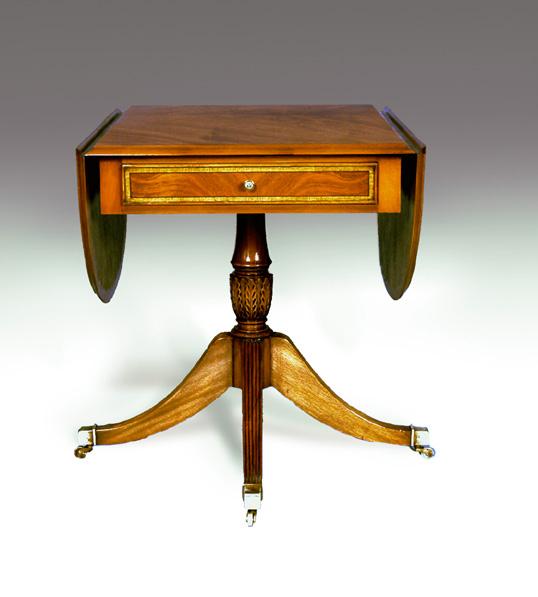 TA006 - Regency Style Pembroke Table