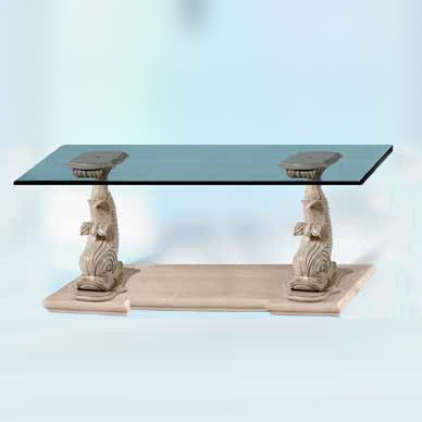 TA025A - Dolphin Console Table