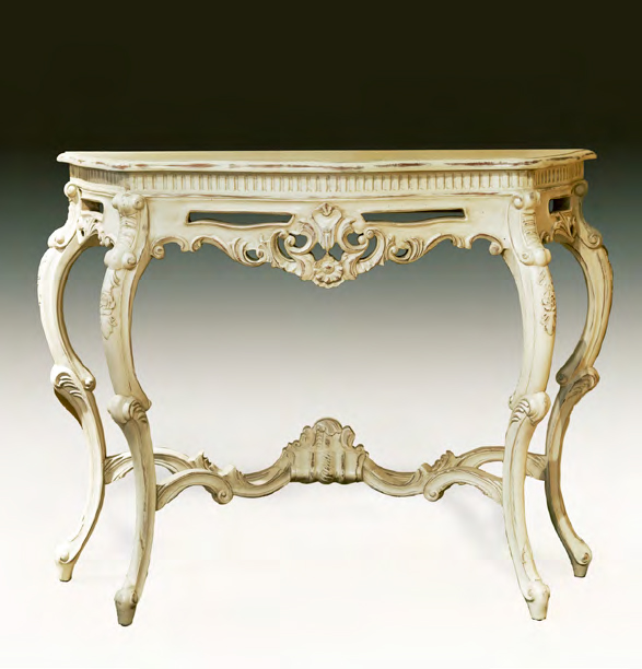 TA3052 - Louis XV Carved Console Table