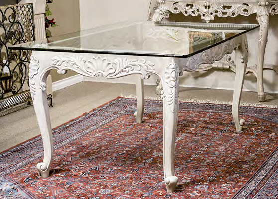 TA1739 - Louis XV Style Dining Table