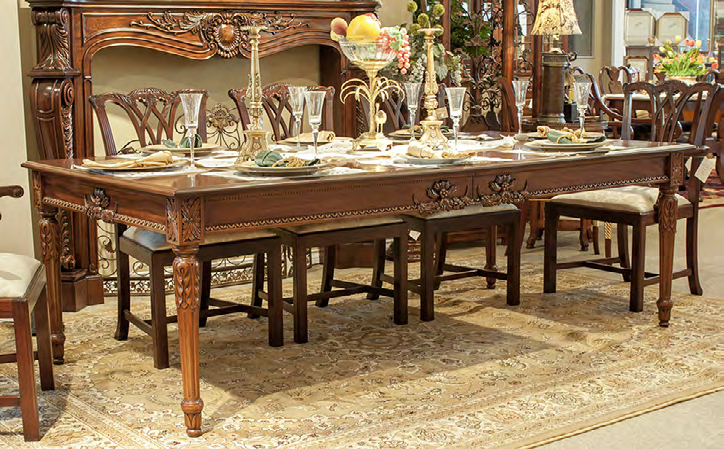 TA7011 - Neoclassic Style Dining Table