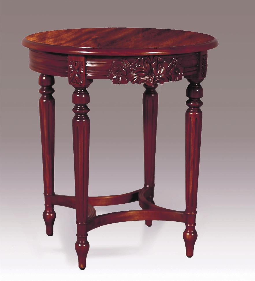 TA88ET - Round Louis XVI End Table