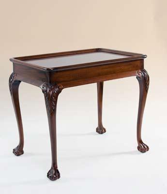 TA7703ET - Chippendale Tea Table