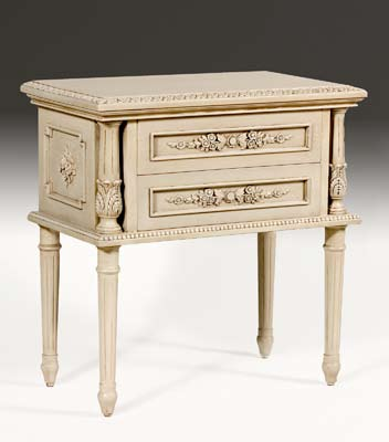 CA50 - Carved Louis XVI Night Table