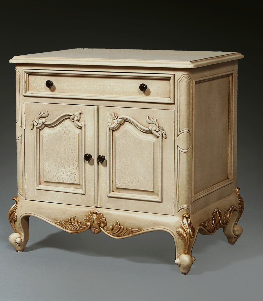 CA390 - Hand Carved Louis XV Night Table