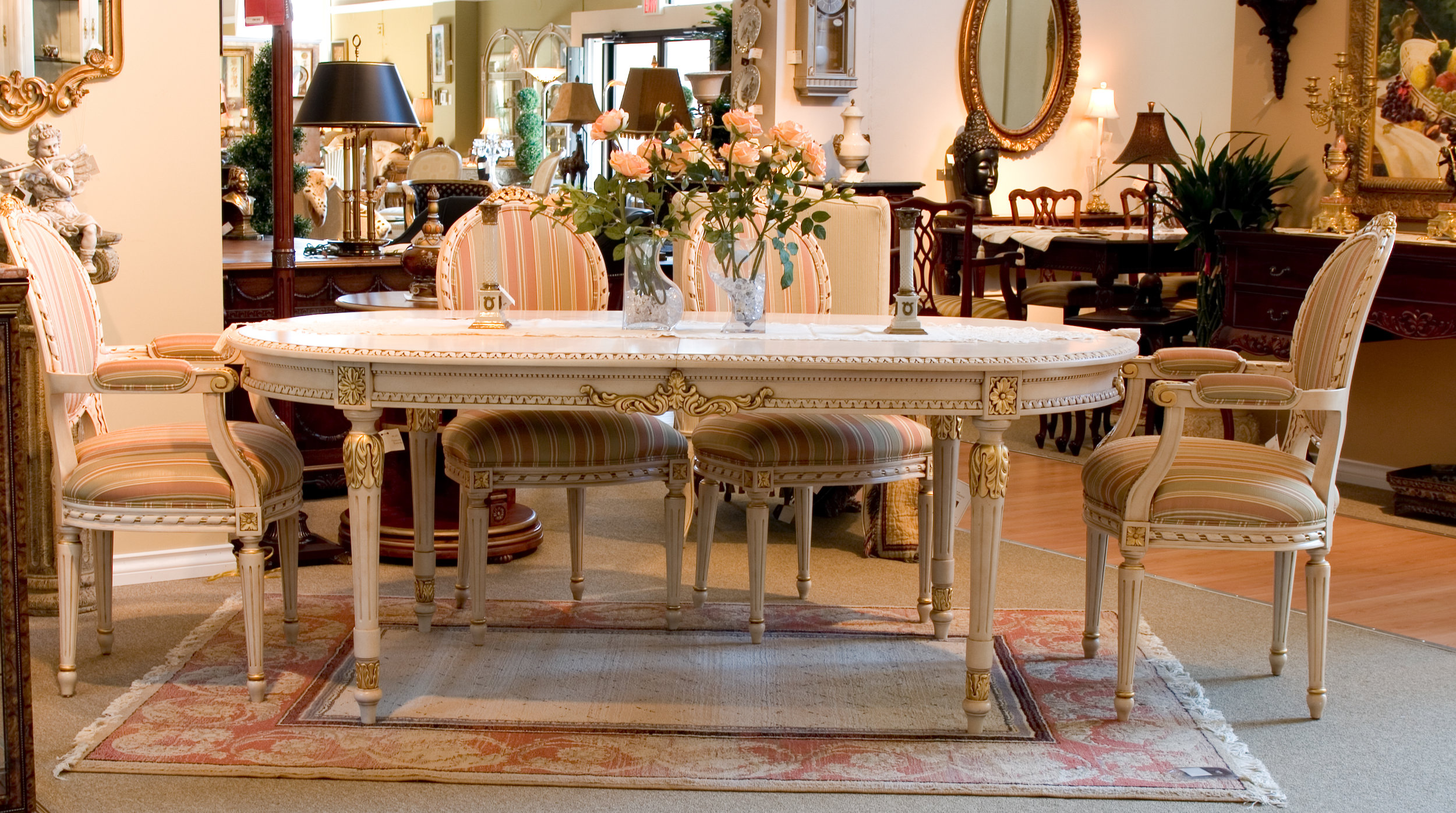 TA500 - Louis XVI Style Dining Table