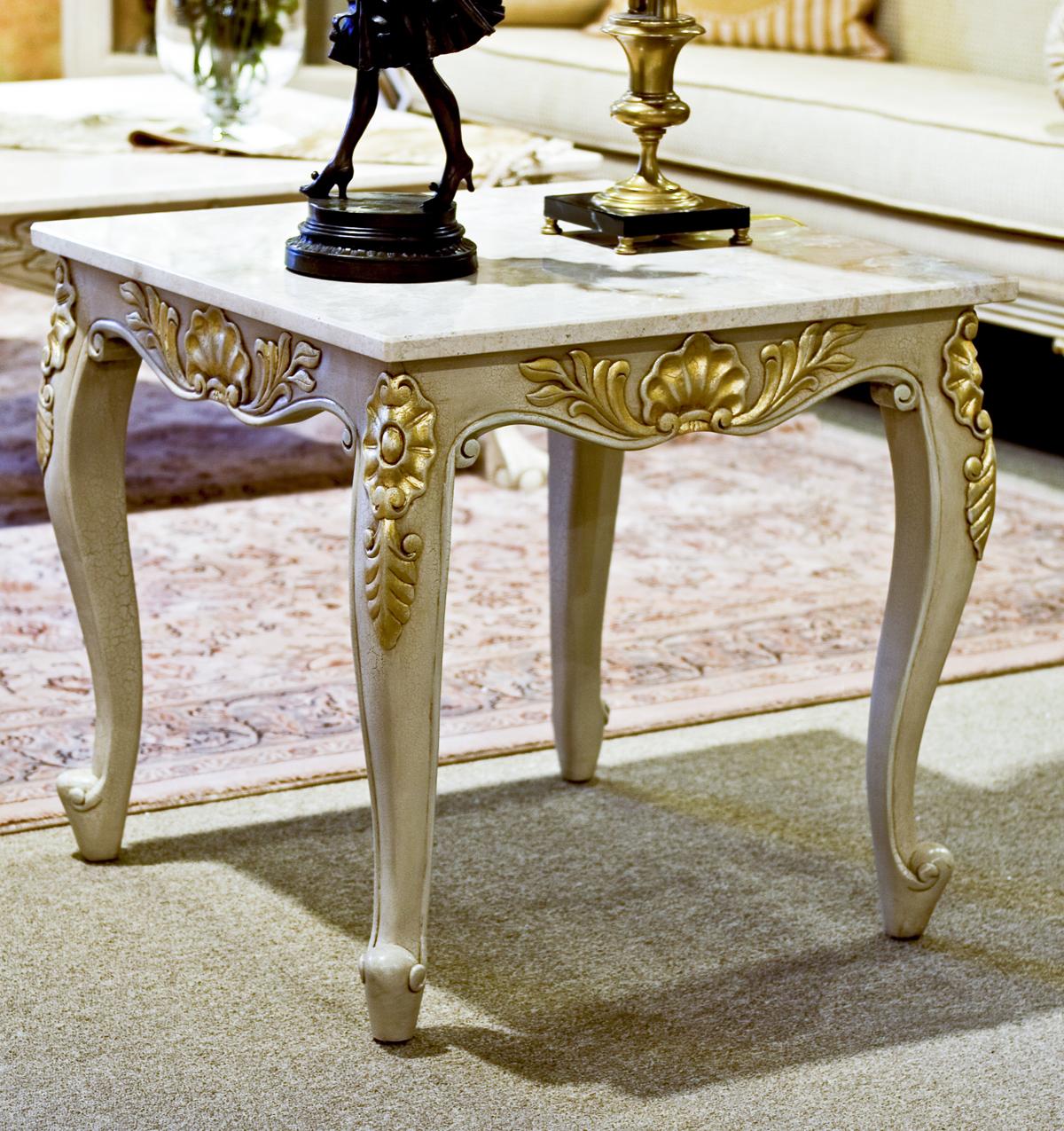 TA307 - Louis XV Style End Table