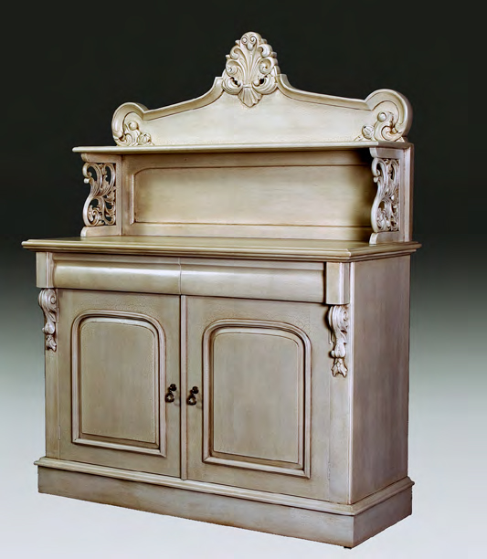 CA023 - Carved Two Door Chiffonier Sideboard