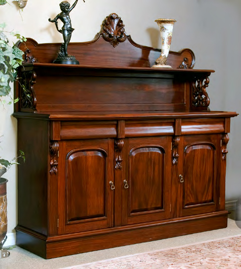 CA033 - Victorian Three Door Chiffonier